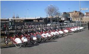 Servicio de alquiler bicicletas