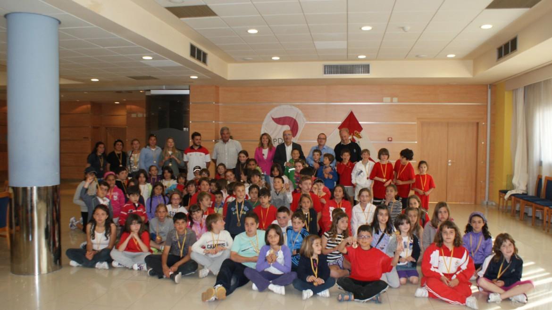 Los niños disfrutaron el primer Encuentro de Deporte Base en el RCN Castellón