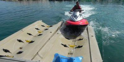Nuevo servicio de plataformas para motos de agua