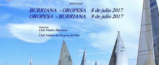 Regata Burriana-Oropesa 2017
