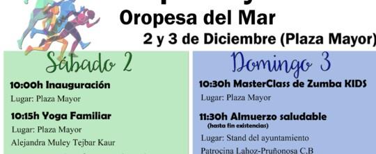 El Club Náutico participa en la I Feria Deporte y Salud del Ayuntamiento de Oropesa del Mar
