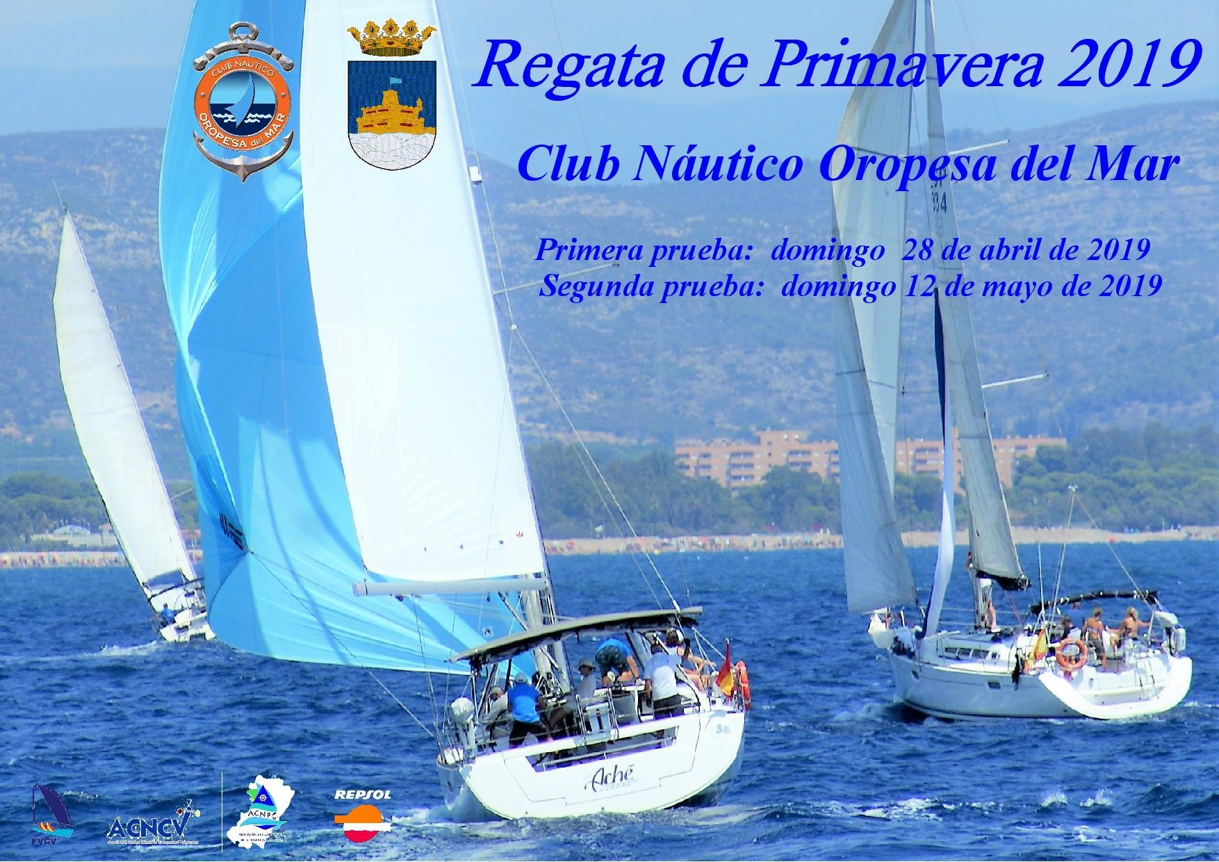 cartel regata primavera 2019 1 - Segunda prueba Regata Primavera 2019