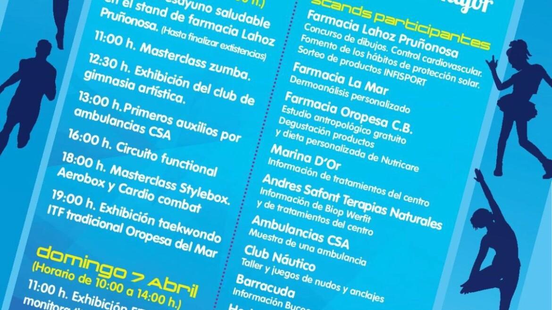 II Feria de deporte y salud