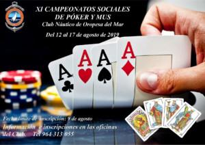 MUS POKER 2019 300x212 - Campeonato de Mus y Póker 2019
