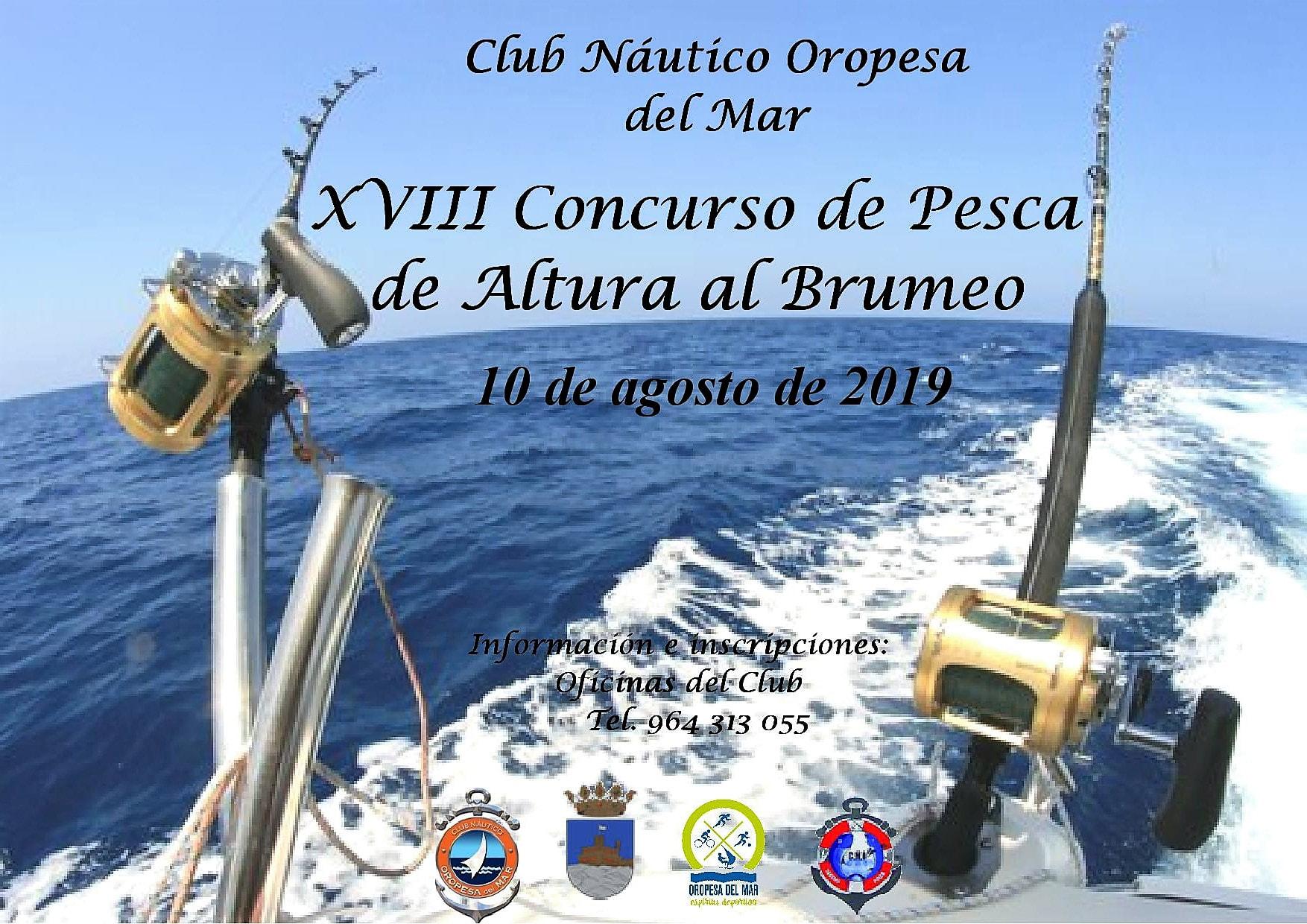 brumeo2019 - XVIII CONCURSO DE PESCA DE ALTURA AL BRUMEO.