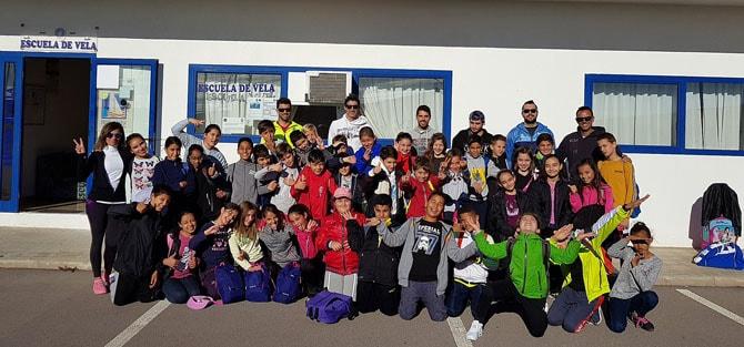 Colegios del municipio más cerca del mar gracias al «Programa Azul»