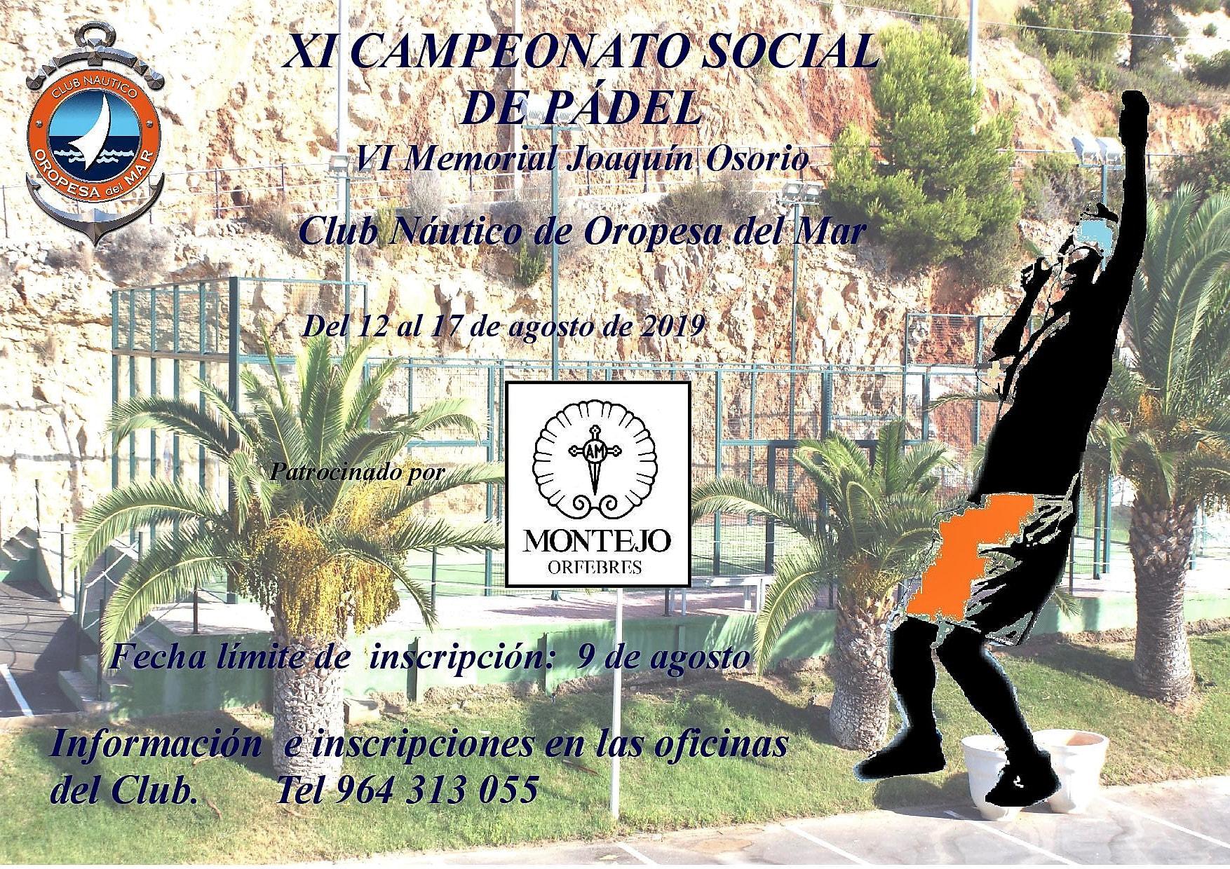 padel2019 - Campeonato social de Pádel 2019