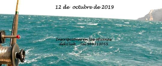 Concurso de pesca al Curricán 2019.