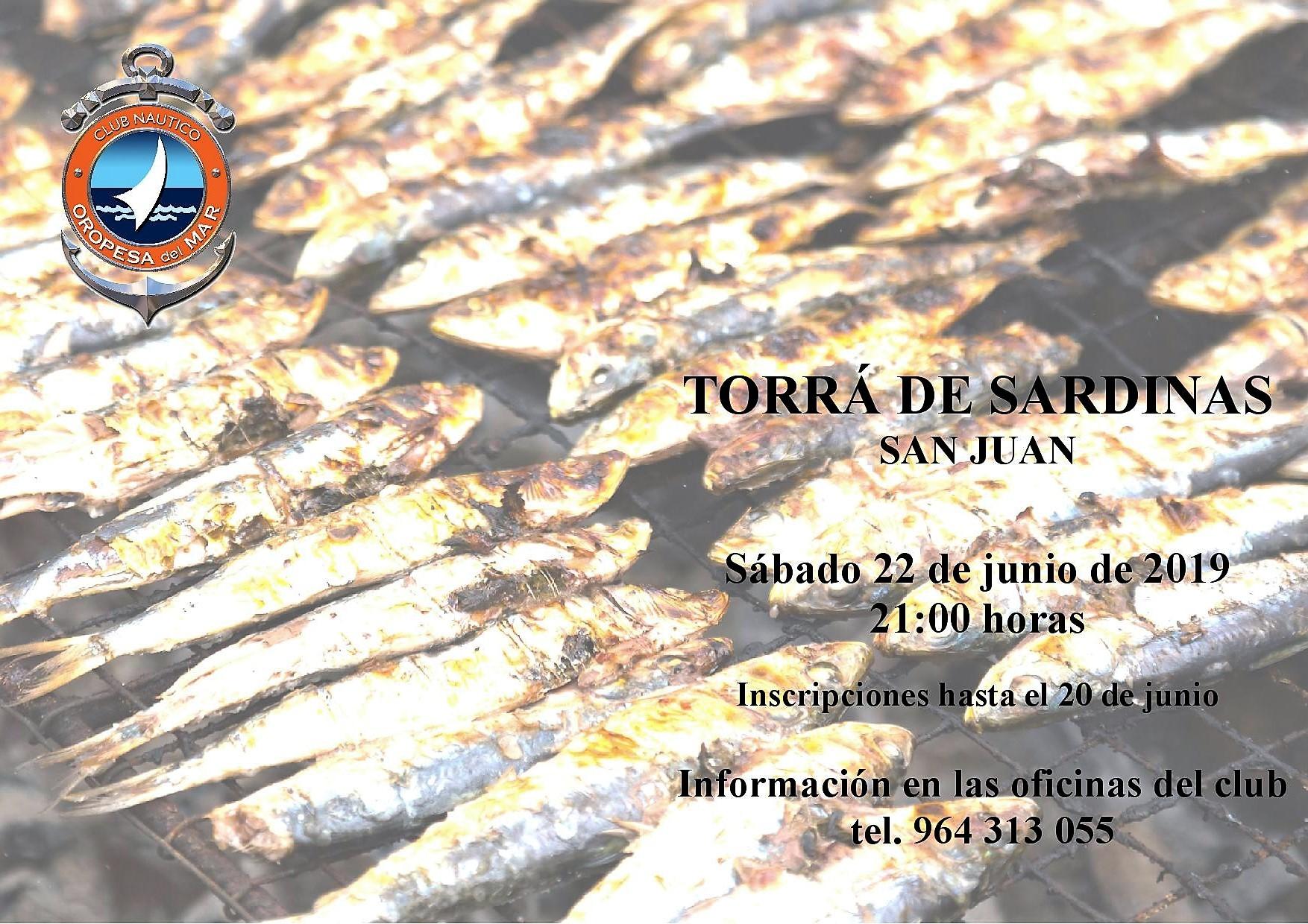 torra 2019 - TORRÁ DE SARDINAS SAN JUAN
