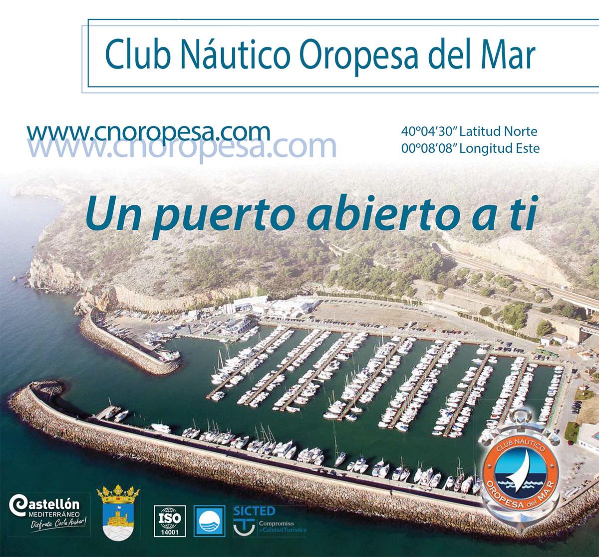 Nou tríptic sobre tots els serveis del Club Nàutic d'Orpesa