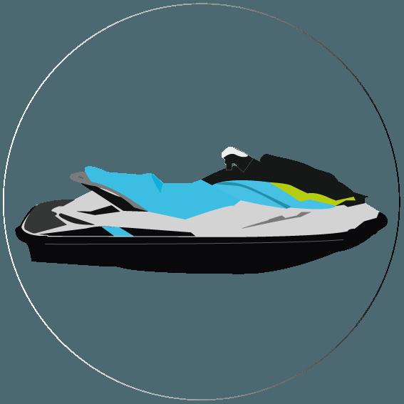 alquiler motos de agua - Servicios