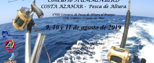 Concurso de pesca Brumeo de Altura