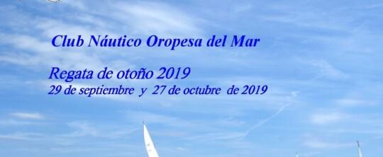 Clasificaciones regata OTOÑO 2019
