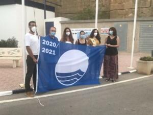 IMG 8627 300x225 - Acto de izado de la Bandera Azul en el puerto deportivo de Oropesa