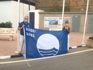 IMG 8630 300x225 - Acto de izado de la Bandera Azul en el puerto deportivo de Oropesa