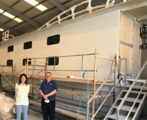foto 2 300x244 - La construcción de los barcos-escuela avanza a buen ritmo.