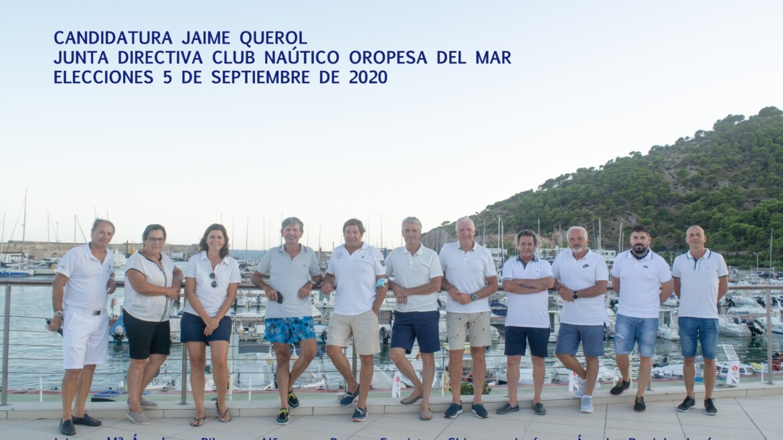 ELECCIONES CNOM 2020. CANDIDATURA DE D. JAIME QUEROL SANJUAN