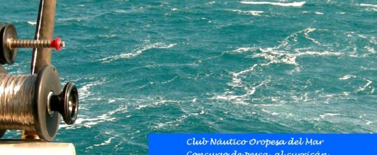 Concurso pesca curricán 24 de octubre