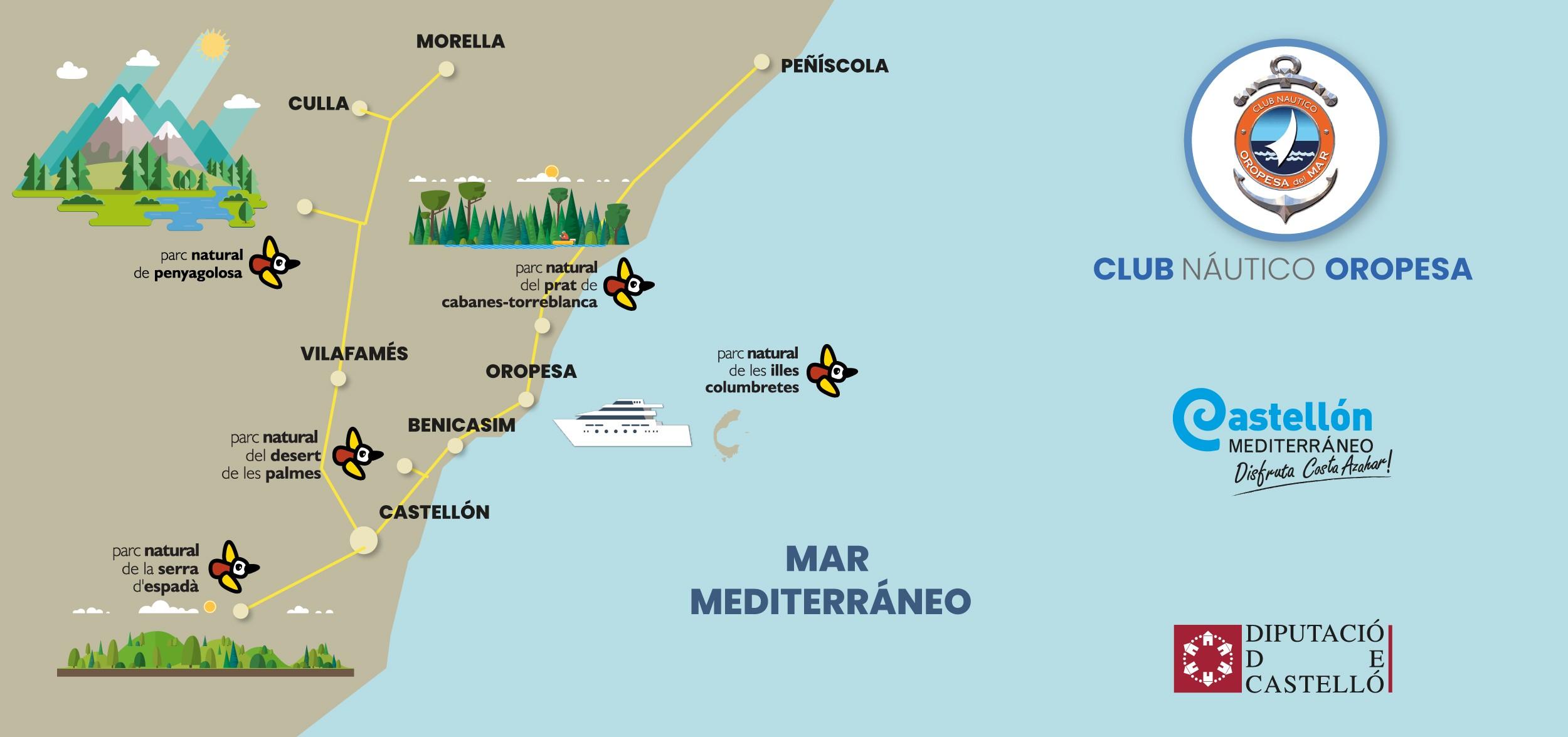 mapa entorno2 - CN Oropesa Colegios y Programación Educativa