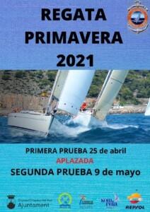 CARTEL SEGUNDA OK 212x300 - Segunda prueba Regata de Primavera 2021 CN Oropesa del Mar