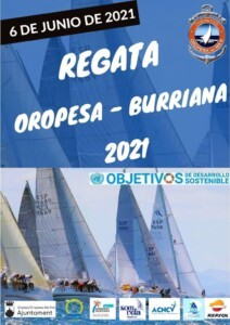 CARTEL Oropesa Burriana 2021 212x300 - Regata Oropesa-Burriana 2021 CN Oropesa del Mar