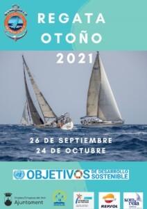 CARTEL 212x300 - REGATA OTOÑO 2021 CN OROPESA
